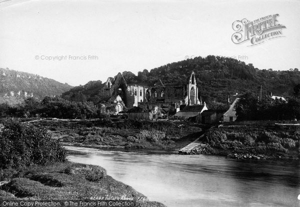 Photo of Tintern, Abbey From Passage Hill 1893