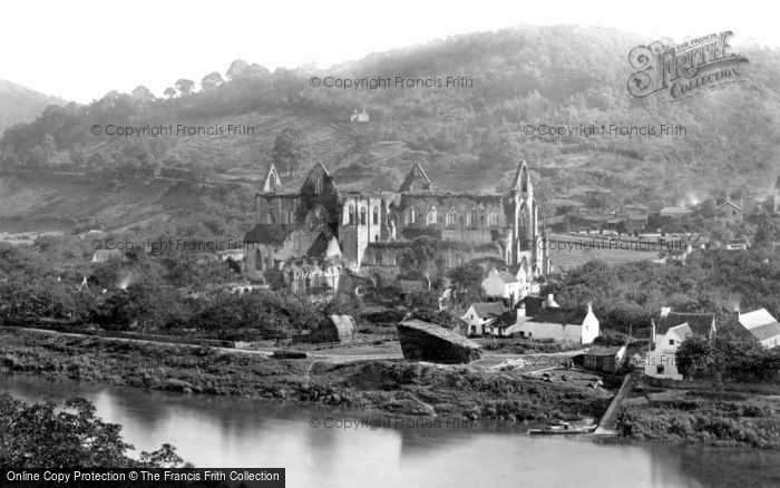 Photo of Tintern, Abbey From Passage Hill c.1878