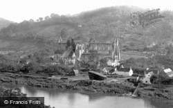 Tintern, Abbey From Passage Hill c.1878