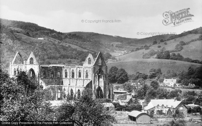 Photo of Tintern, Abbey From South East c.1935