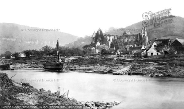 Photo of Tintern, Abbey From The Ferry c.1872