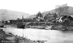 Tintern, Abbey From The Ferry c.1872