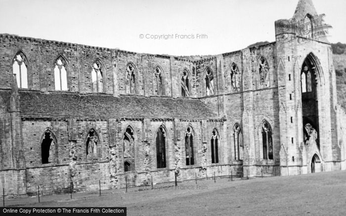 Photo of Tintern, Abbey, From The South c.1950