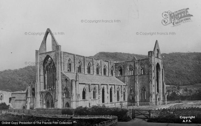 Photo of Tintern, Abbey From The South West c.1935