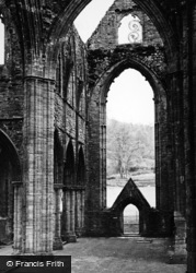 Tintern, Abbey, Interior c.1955