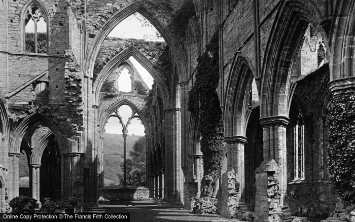 Photo of Tintern, Abbey, Nave East 1893