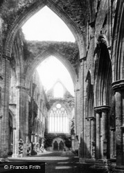 Tintern, Abbey, Nave West 1893