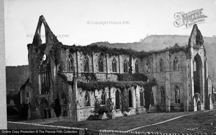 Photo of Tintern, Abbey South Side 1890