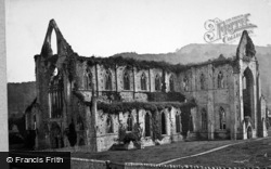 Tintern, Abbey South Side 1890
