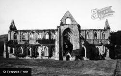 Tintern, Abbey, South Side 1893