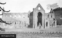 Tintern, Abbey, South Side 1925