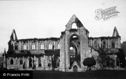 Tintern, Abbey South Side c.1872