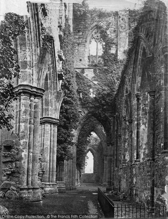 Photo of Tintern, Abbey South Transept c.1874