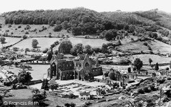 Tintern, Abbey, 'surprise View' c.1955