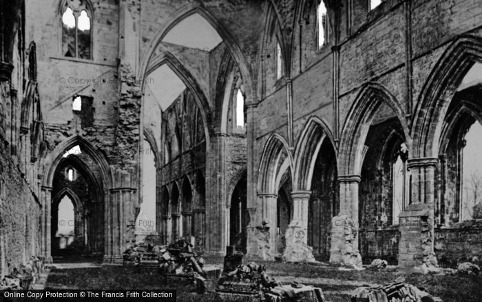Photo of Tintern, Abbey, The Nave Arches c.1872