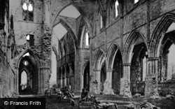 Tintern, Abbey, The Nave Arches c.1872