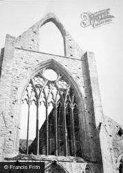 Tintern, Abbey, The West Window c.1950