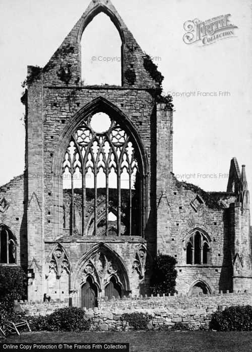 Photo of Tintern, Abbey, West Front 1893