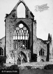 Tintern, Abbey, West Front 1893