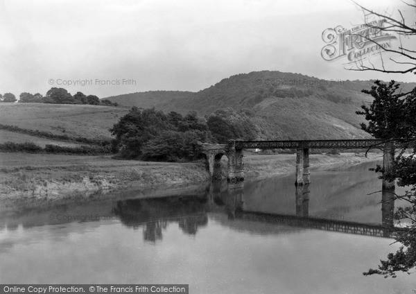 Photo of Tintern, Bridge And River Wye c.1935