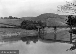 Tintern, Bridge And River Wye c.1935
