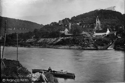 Tintern, Ferry And Abbey c.1935