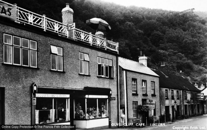 Photo of Tintern, Guys Cliff Cafe c.1950