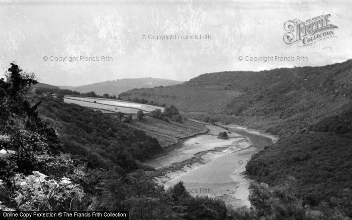 Photo of Tintern, River Wye c.1935