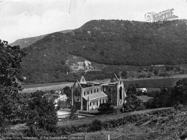Photo of Tintern, The Abbey 1925