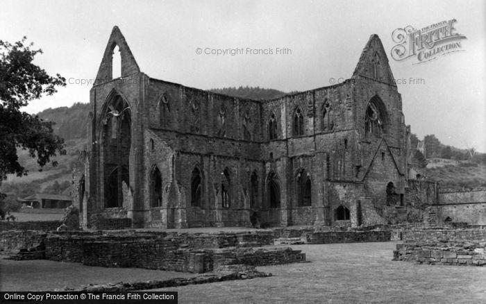 Photo of Tintern, The Abbey 1955
