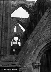 Tintern, The Abbey 1955