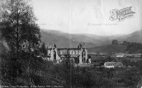 Photo of Tintern, The Abbey c.1872