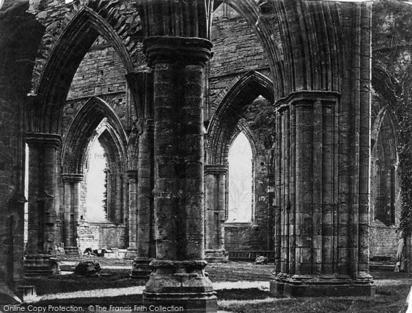 Photo of Tintern, the Abbey c1872