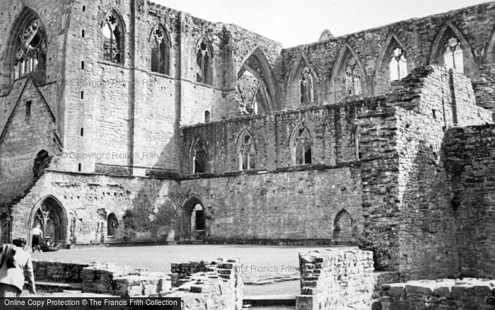 Photo of Tintern, The Abbey c.1950