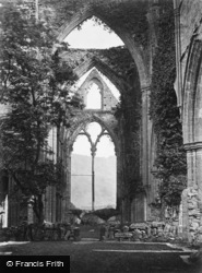 Tintern, The Abbey Looking East c.1870
