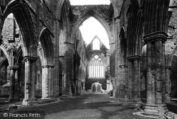 Tintern, The Abbey, The Nave Looking West 1893