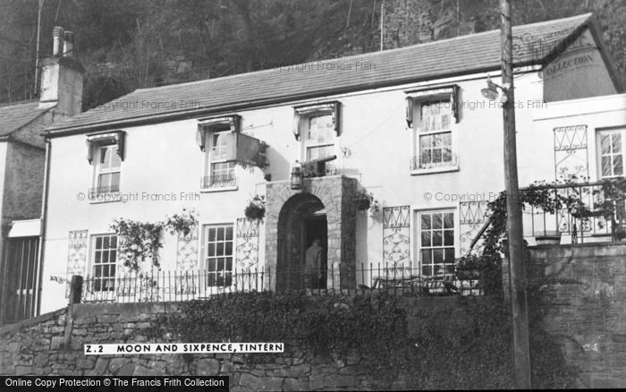 Photo of Tintern, The Moon And Sixpence c.1960