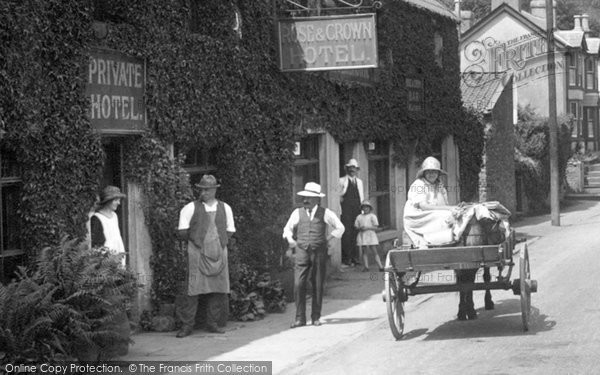 Photo of Tintern, The Rose And Crown Hotel 1925