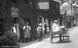 Tintern, The Rose And Crown Hotel 1925