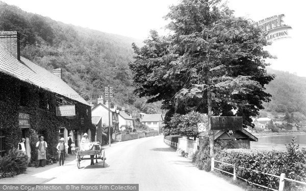Photo of Tintern, The Village 1925