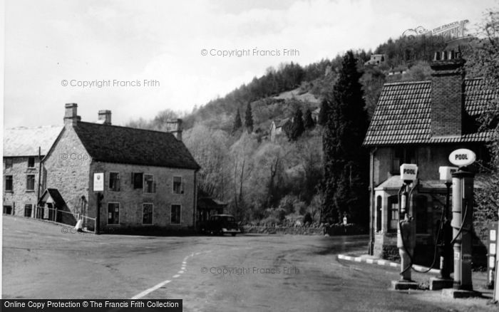 Photo of Tintern, The Village And Petrol Pumps c.1950