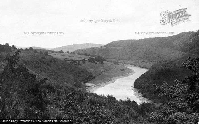 Photo of Tintern, The Wye Valley From Tintern Road c.1935