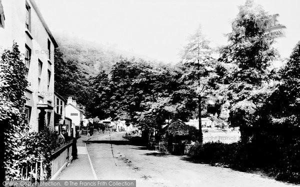 Photo of Tintern, Village 1893