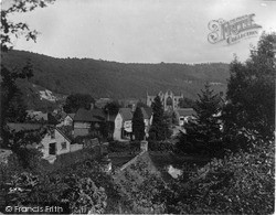 Tintern, Village And Abbey c.1935