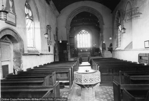 Photo of Tintinhull, St Margaret's Church Interior c.1955