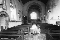 Tintinhull, St Margaret's Church Interior c.1955