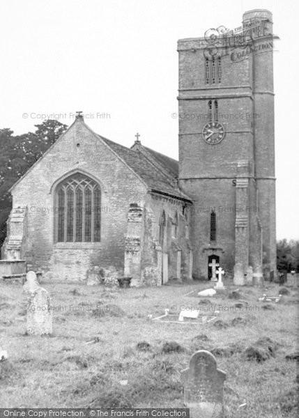Photo of Tintinhull, The Church c.1955
