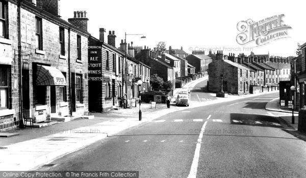 Photo of Tintwistle, Old Road c.1960