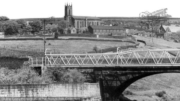 Tintwistle, Parish Church c1960