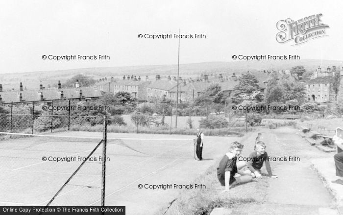 Photo of Tintwistle, The Bowling Green And Tennis Courts c.1960